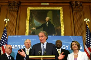 Rep. Ed Markey Announces Climate Change Passage, June 26, 2009