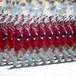 Women Soldiers in Hot Pink, October 1, 2009