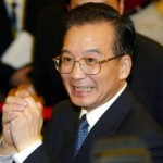 Happy Wen Jiabao