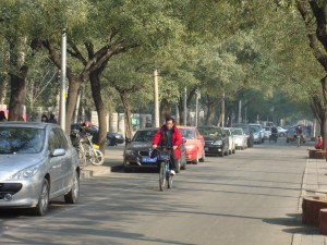 Biking in Beijing - perhaps the best way to get around