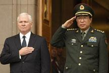 Xu Caihou & Robert Gates - maintaining close ties?