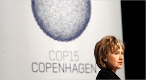 Sec. of State Hillary Clinton in Copenhagen