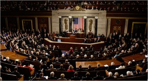Barach Obama's first State of the Union