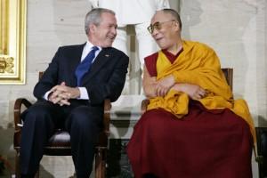 President Bush & the Dalai Lama