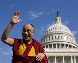 The Dalai Lama at the U.S. Capitol