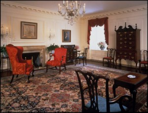 The Map Room: Less Prestigious perhaps, But more Ornate