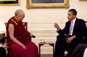 Official White House Photo of President Obama and Dalai Lama