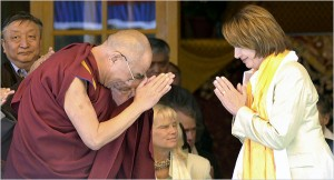 Speaker of the House, Nancy Pelosi meets with the Dalai Lama; another meeting that angered beijing