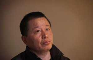 An emaciated Gao Zhisheng in March 2010 after a year in police custody