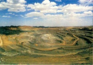 China's rare earth mine in Inner Mongolia