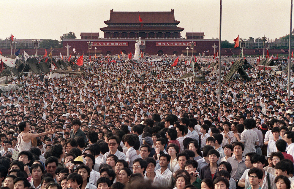 Spring 1989 - Peaceful Protest on Tiananmen Square