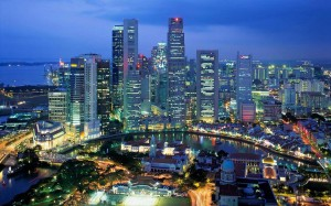 "Modern day Singapore; what Buruma refers to as ""Disneyland with capital punishment"""
