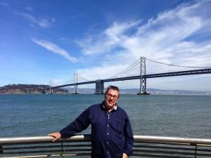 Journalist Paul Mooney in San Francisco