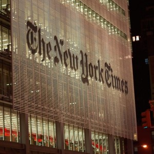 Goodbye New York Times?