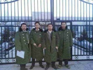 The Jiansanjiang Four - from L to R: Jiang Tianyong, Zhang Junjie, Wang Cheng & Tang Jitian