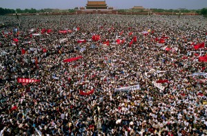 Hundreds of thousands of Beijing residents - students, workers, ordinary people - supported the protests.
