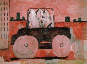 Philip Guston's City Limits (1969), part of BK Museum's Witness Exhibit