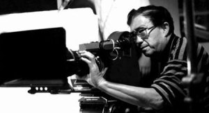 Director Xie Jin at work.