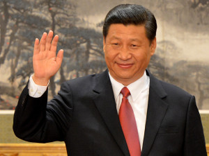 China's President Xi Jinping, leading a major crackdown on China's human rights attorneys.