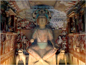 Mogao Cave #275, Northern Liang (397-439)